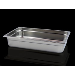 Bac Gastronorme Inox GN1/1 Plein H. 100 mm