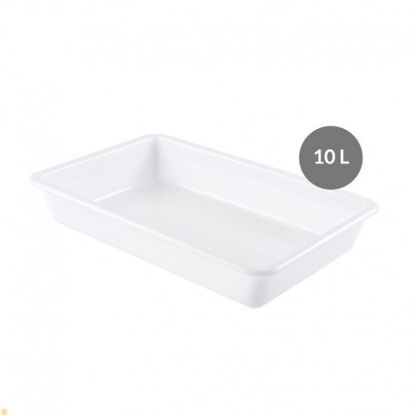 Bac alimentaire plat 10 Litres