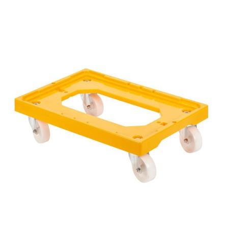 Socle Rouleur 4 roues pivotantes
