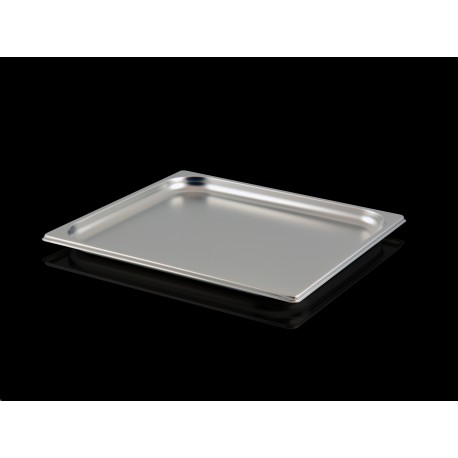 Bac Gastronorme Inox GN2/3 Plein H. 20 mm