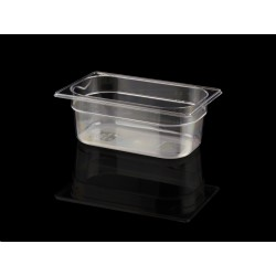 Bac Gastronorme Polycarbonate GN 1/4 H. 100 mm