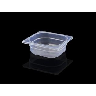 Bac Polypropylène GN 1/6 H. 065 mm