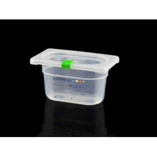 Bac Polypropylène GN 1/9 H. 100 mm HACCP