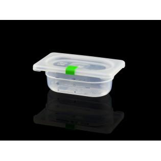 Bac Polypropylène GN 1/9 H. 065 mm HACCP