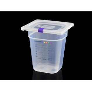 Bac Polypropylène GN 1/6 H. 200 mm HACCP