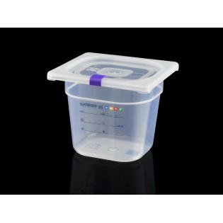Bac Polypropylène GN 1/6 H. 150 mm HACCP