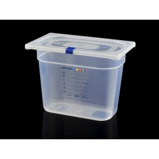 Bac Polypropylène GN 1/4 H. 200 mm HACCP