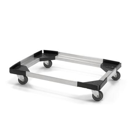 Socle Rouleur pour Box Isotherme Maxi / Maxi Crystal en Aluminium/ABS