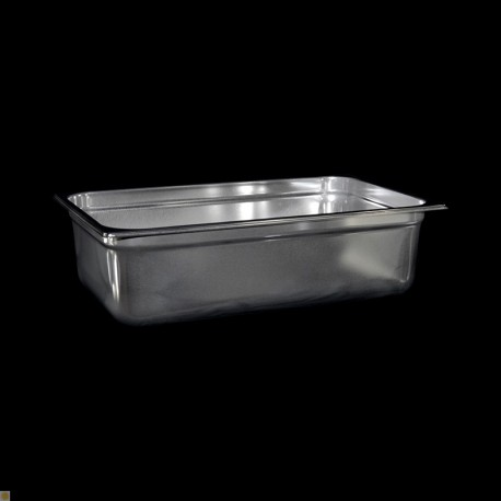 Bac Gastronorme Inox GN1/1 Plein H. 150 mm