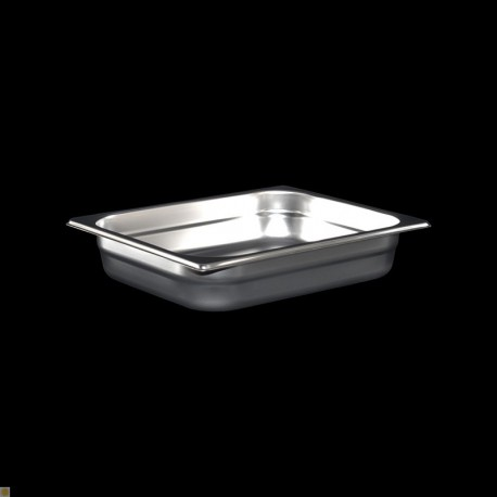Bac Gastronorme Inox GN1/2 Plein H. 65 mm