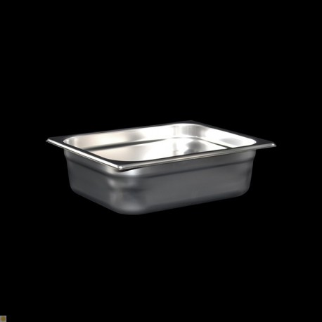 Bac Gastronorme Inox GN1/2 Plein H. 100 mm