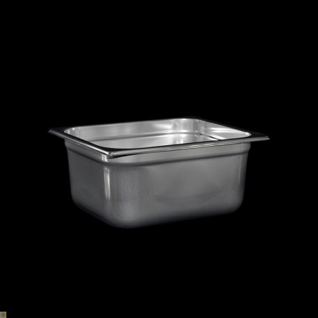 Bac Gastronorme Inox GN1/2 Plein H. 150 mm