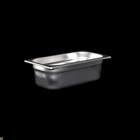 Bac Gastronorme Inox GN1/3 Plein H. 100 mm
