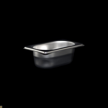 Bac Gastronorme Inox GN1/9 Plein H. 65 mm