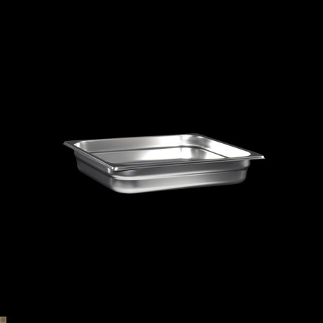 Bac Gastronorme Inox GN2/3 Plein H. 65 mm