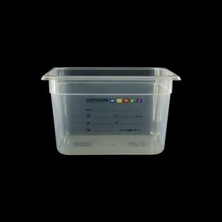 Bac Polypropylène GN 1/2 H. 200 mm HACCP