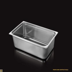 Bac Gastronorme Inox GN1/1 Plein H. 200 mm