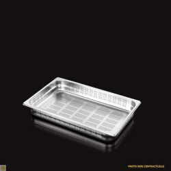 Bac Gastronorme Inox GN1/1 Perforé H. 65 mm