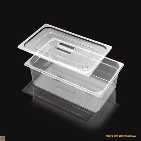 Bac Gastronorme Polycarbonate GN 1/1 H. 100 mm