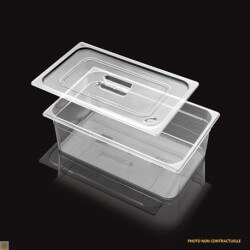 Bac Gastronorme Polycarbonate GN 1/9 H. 100 mm